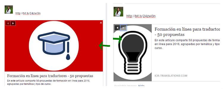 Imagen diferente, blog en facebook